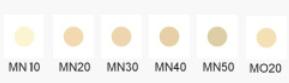 Covermark -Moisture Veil LX-swatches